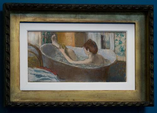Degas - Woman in her bath