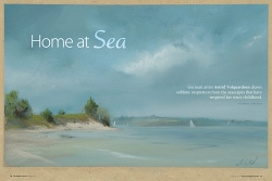 Pastel Journal 08/2011 - Home at Sea