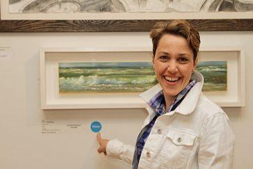 Daler-Rowney Award at the Pastel Society UK Exhibition