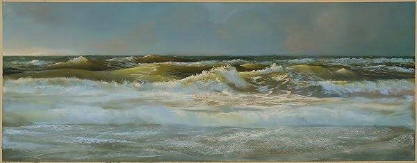 Aus meiner Arbeit: Raue See