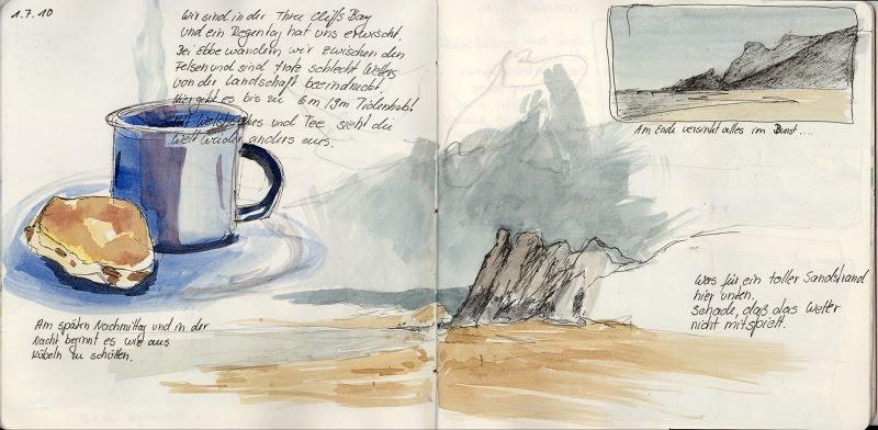 Wales – Three Cliffs Bay-Astrid Volquardsen