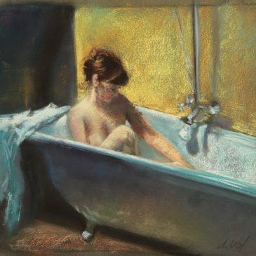 Eva in the bath (III)