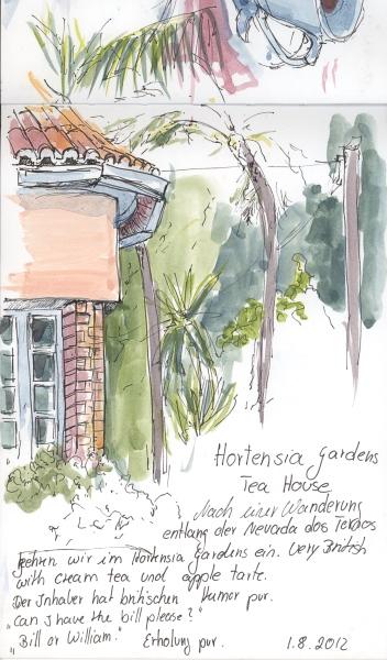 Madeira – Hortensia Tea Garden
