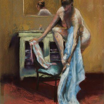 Eva in the bath (VI)