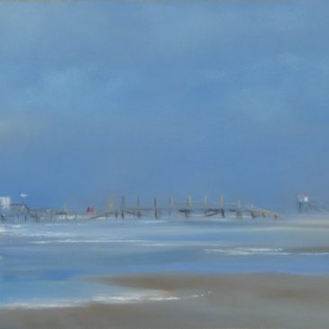 St. Peter-Ording: 54° in the winter light