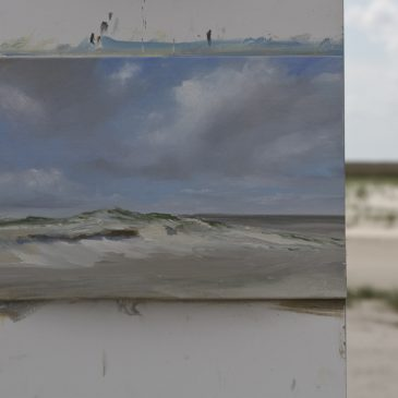 Plein Air in St. Peter-Ording: Duneview