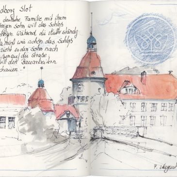 Sketch: Nordborg Slot or snippets of life