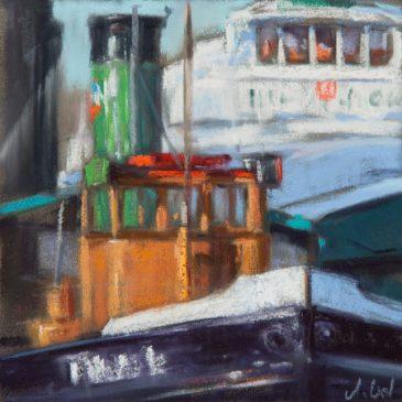 Steam tug boat Tiger