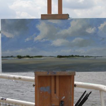 Plein Air: The other day at the river