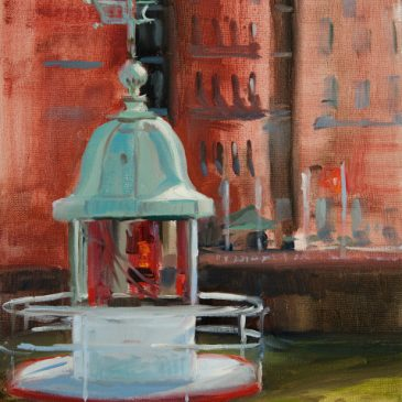 Plein Air: Lighthouse at the Maritime Museum (Oil)