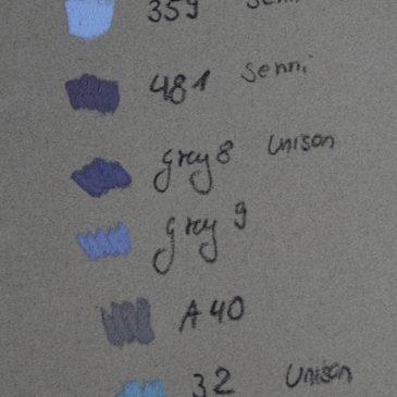 Farbige Grautöne: Materiallkunde für Pastellmaler