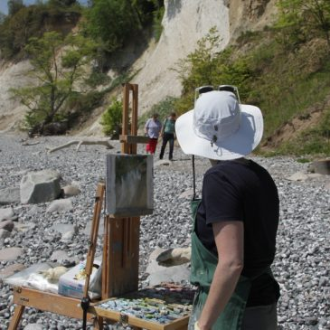 Plein Air Pastel: Chalk Cliff