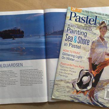 Veröffentlichung im Pastel Journal Juli/August 2017