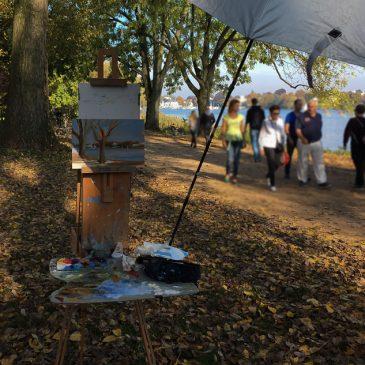 Plein Air: Alster Park