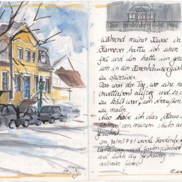 Sketch: Das Hardenbergsche Haus or the home of the gardener