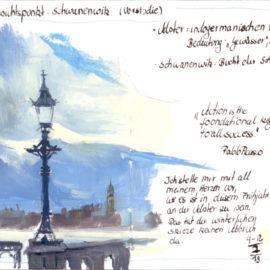 Aussichtspunkt Schwanenwik (Vorstudie)