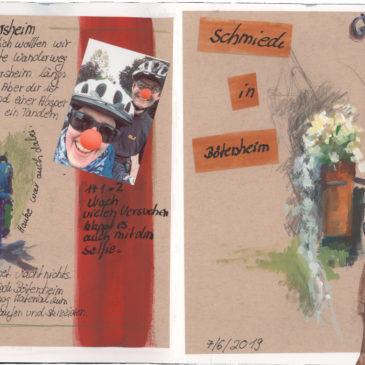Astrid Volquardsen - Skizzenbuch - Bötersheim