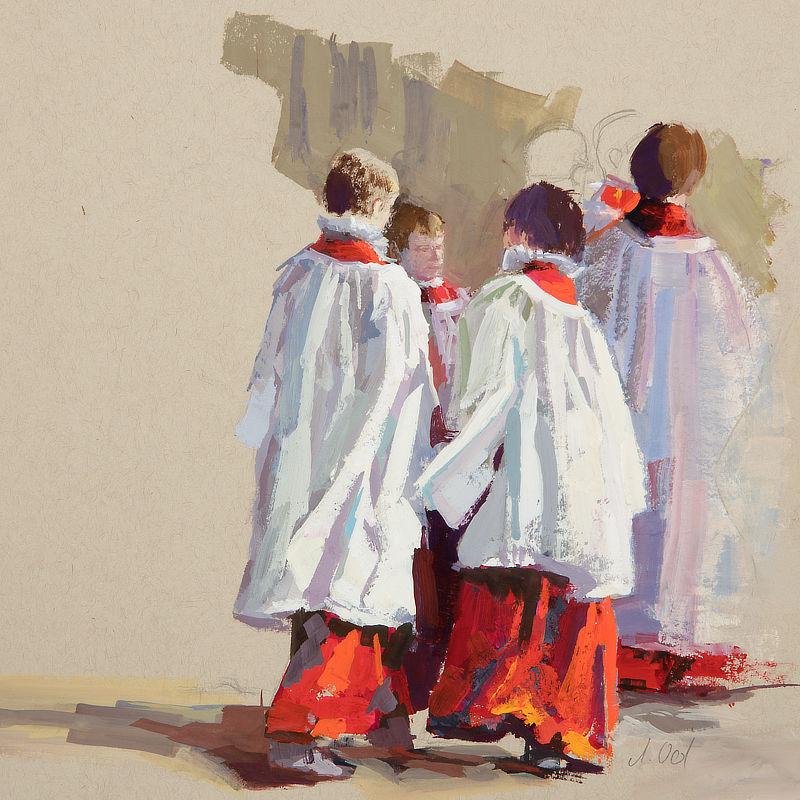 Westminster Abbey Choir, 20x20, 2020